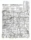Rad Township - North, Garnavillo Township - West, Clayton County 1966